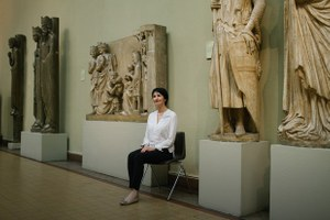 «Я работаю вПушкинском музее»
