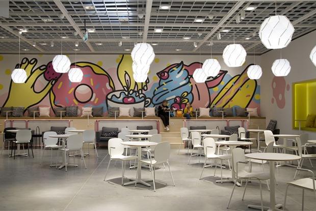 Вегетарианское меню, фреш-бар и рисунок Натальи Пастуховой: Как выглядит новое бистро ИКЕА