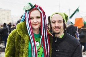 Люди в городе: Участники парада вчесть Днясвятого Патрика