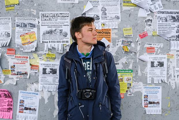 Даниил Максюков — о вокзальном драйве, уличной торговле и семейных фотоальбомах