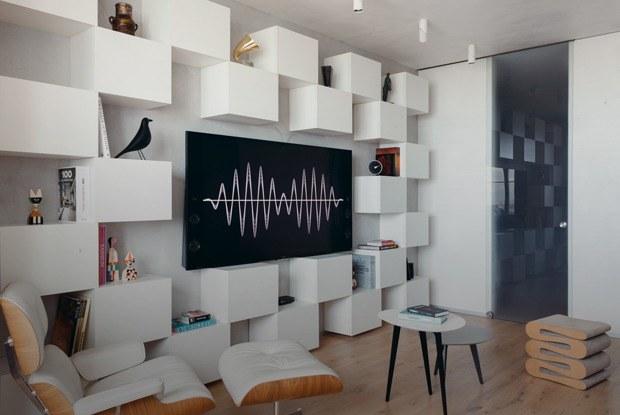 Небольшая квартира спродуманной инженерией