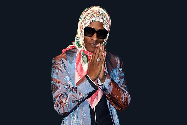 Бабушкин вариант: Зачем A$AP Rocky носит косынку истоит ли вам еекупить