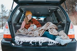 Зима вгорах: Преимущества путешествия наарендованном автомобиле