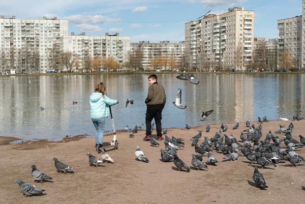 Центр Петербурга опустел, аспальные районы — нет. Воткакэто выглядит