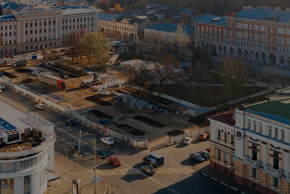 Новая площадь Маркина: больше на 15 метров и работающий фонтан