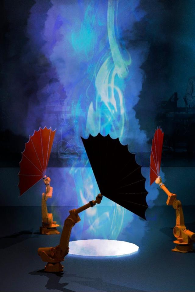 Как выглядят роботы с веерами, которые по-новому показывают балет Игоря Стравинского «Весна священная»
