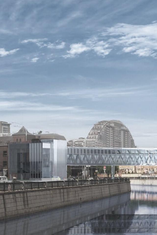 Через Яузу врайоне «Электрозаводской» построят пешеходный мост
