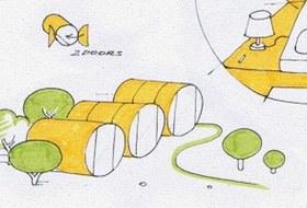 Идеи для города: Гостиницаизбетонныхтруб