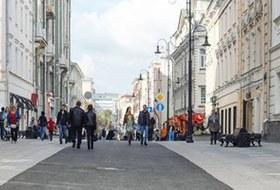 Как прогуляться по пешеходным улицам Москвы задесять минут