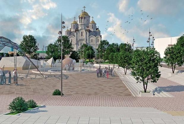 Крытый скейт-парк и мост через Исеть: Как изменится набережная с храмом у Театра драмы