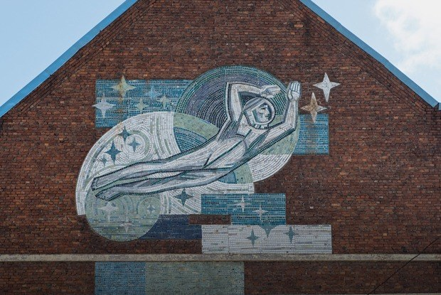 Звезды, рыбка и Победа: 10советских мозаик Петербурга
