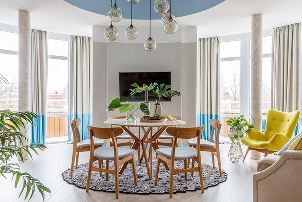Голубая квартира в Анапе