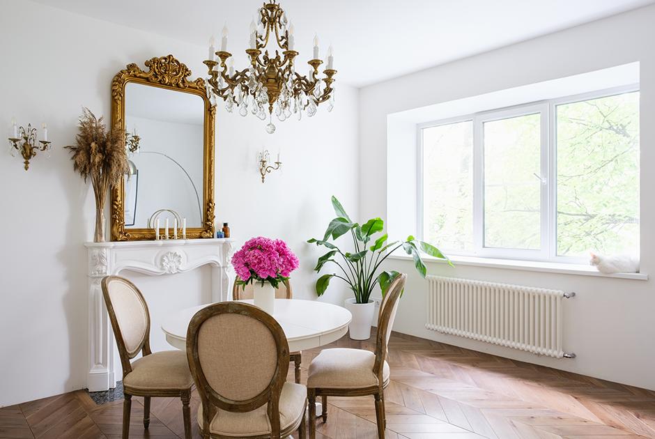 Трехкомнатная квартира в европейском стиле в доме общества старых большевиков