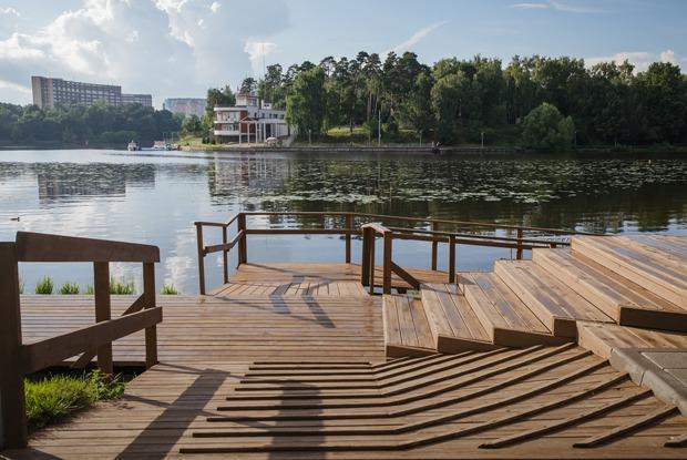 Как выглядят новые парки Москвы