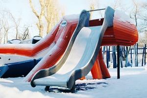 Фоторепортаж: Детская площадка Monstrum впарке Горького