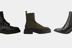 Челси, грубые ботинки и другая неубиваемая обувь на осень