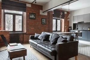 Трёхкомнатная квартира для холостяка наТишинке