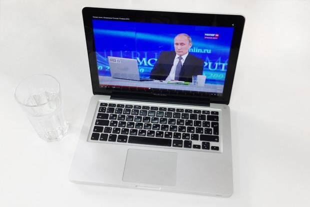 Как Россия смотрела «Прямую линию» с Владимиром Путиным