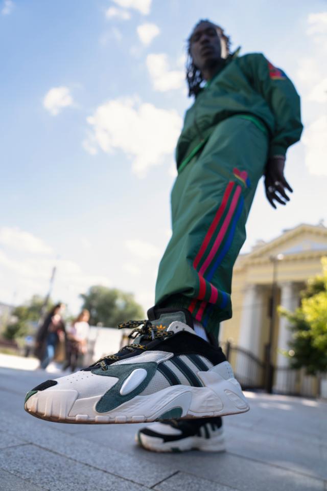 Новая коллекция кроссовок Streetball от adidas Originals