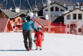 Как поставить ребенка на лыжи
