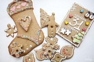 Сладкий Санта: Имбирные человечки и другие новогодние десерты навынос