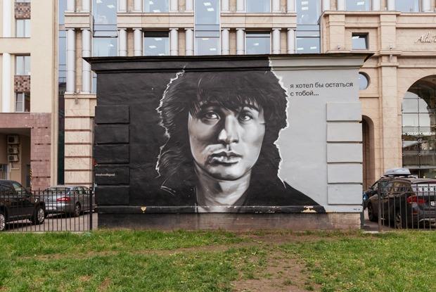 Кто зарабатывает налегальных граффити вПетербурге