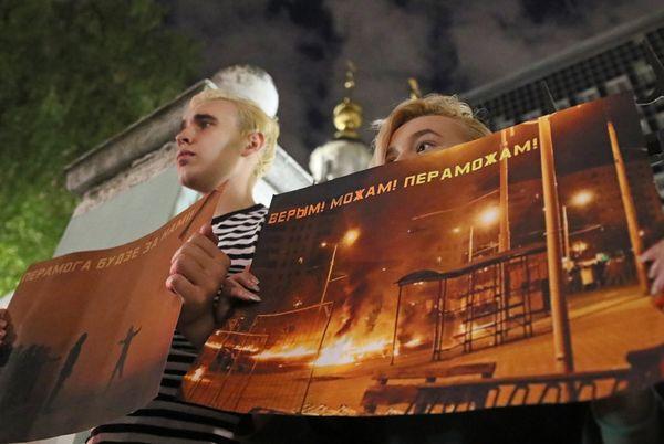 Белорусы в Москве — об акциях протеста у посольства