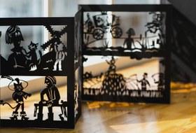 Книга-диктофон, театр теней идетские рисунки: Какмамы придумали классные детские проекты