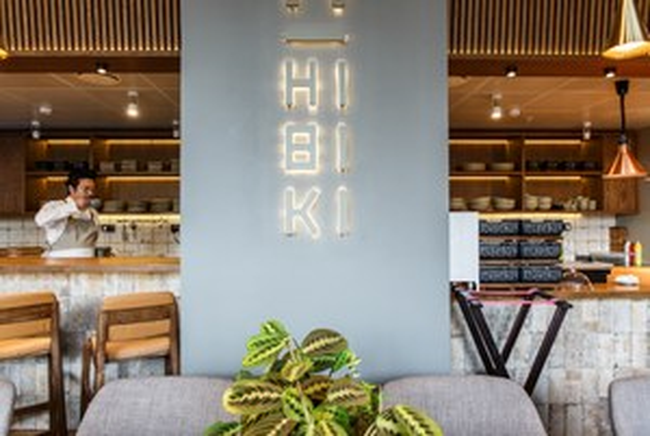 Сдержанный японский ресторан Hibiki на Трубецкой улице