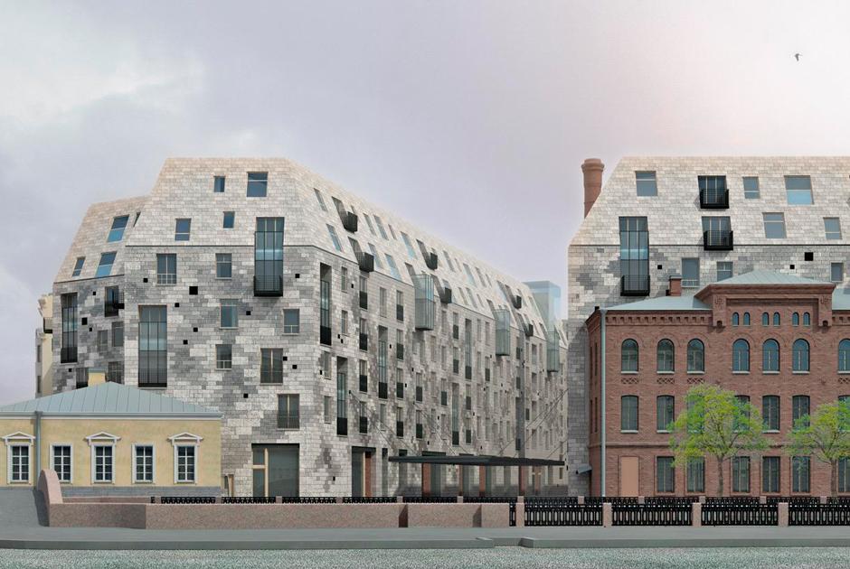 В центре Петербурга построят дом, который в народе называют «гробом»