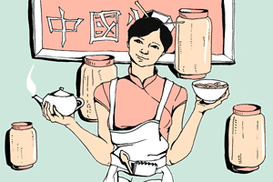 Есть вопрос: «Как неговорящие по-русски китайцы открывают кафе?»