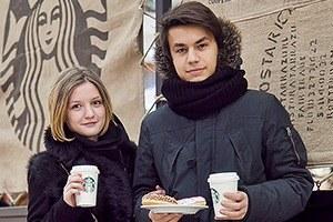 Люди в городе: Первые посетители Starbucks вСтокманне