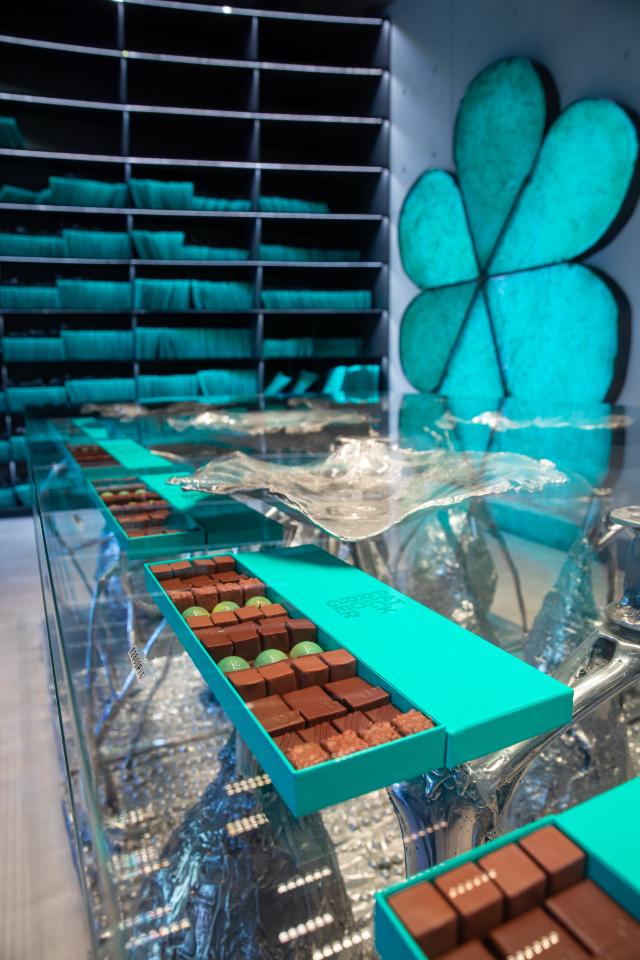 ВМоскве открылся бутик французской марки шоколада Patrick Roger