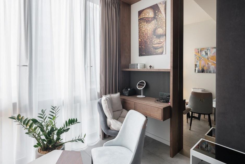Квартира с системой «умный дом» для молодой пары (Петербург)