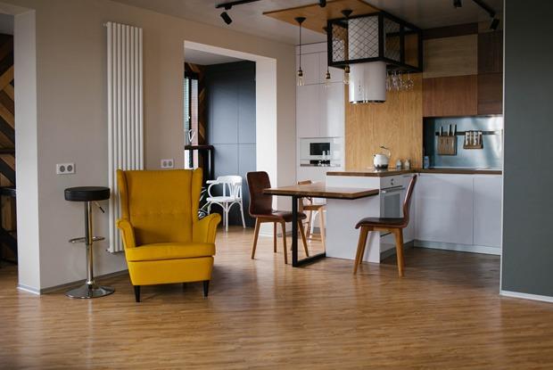Просторная квартира для молодой семьи с двумя детьми в «Каменном ручье»