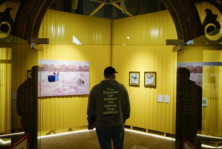 Открытие выставки Юлии Вирко и Антона Гельфанда в галерее FUTURO