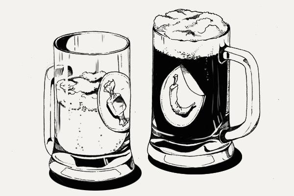 Крепче ли тёмное пиво светлого?