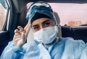Терапевт, лечащий коронавирус надому