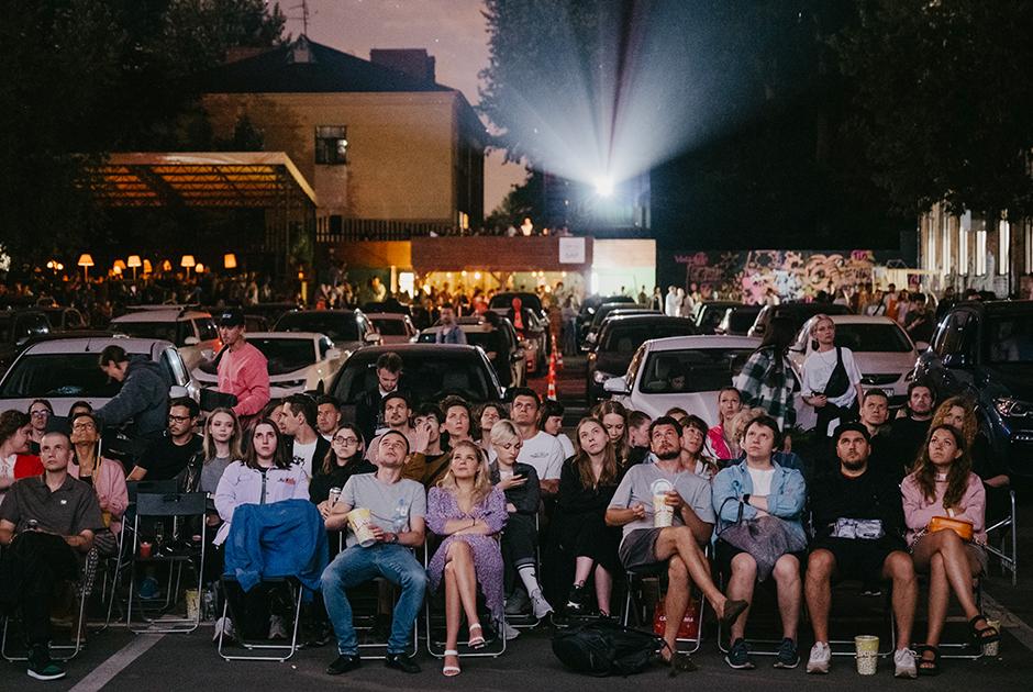 Кино на«Флаконе»— новый драйв-ин-кинотеатр вМоскве