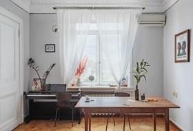 Минималистичная двухкомнатная квартира наКотельнической набережной