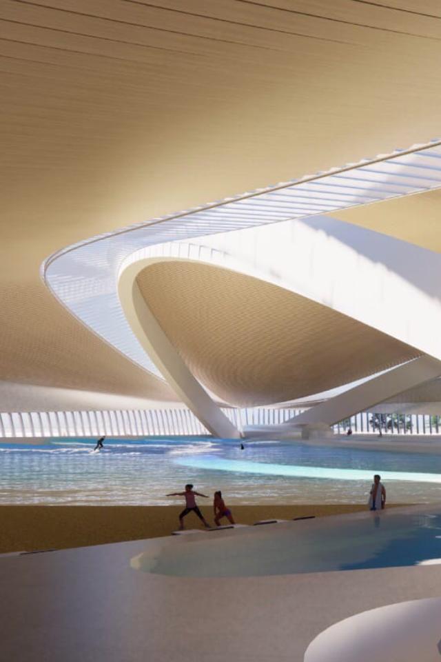ВМоскве планируют построить крытый серфинг-центр