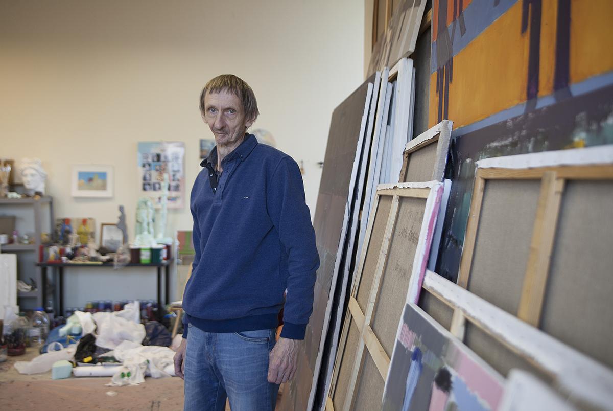 Сергей Лаушкин: «Мне нравится, когда картина умнее художника»