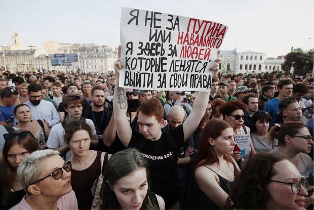 Счего начались протесты вМоскве, зачем онинужны иопасно ли ходить на митинги