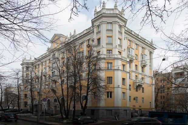 Я живу в «Доме с башенками» уБелорусского вокзала