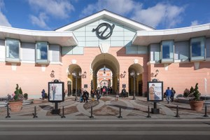 Как выглядит новый аутлет-центр наПулковском шоссе