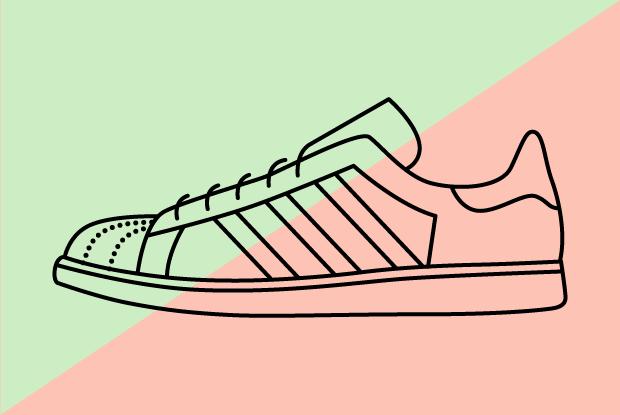 Самая дорогая и дешёвая пара кроссовок adidas Originals вSuperstar Moscow