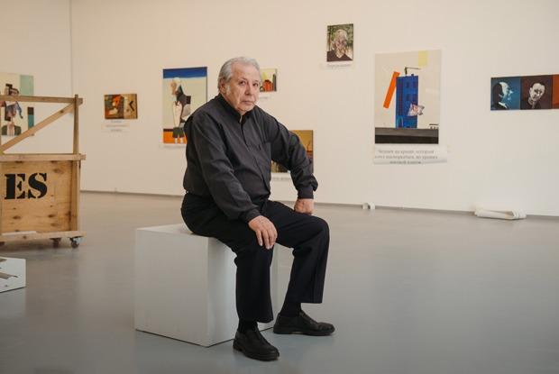 Виктор Пивоваров— ополитик-арте, снах исмерти