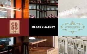 Три ресторана Айзека Корреа: Black Market, Corner Burger, Upside Down Cake Co