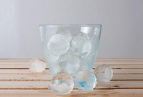 Из какой воды икак делают лед вбарах?