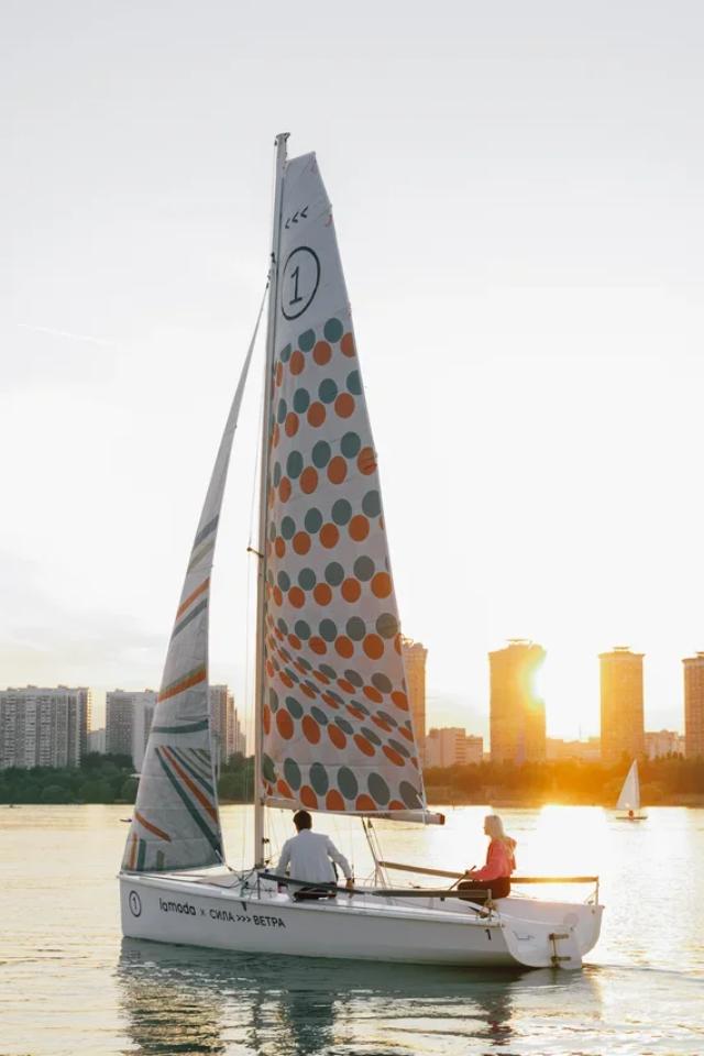 Lamoda и«Сила ветра» проведут совместные тренировки напарусных лодках
